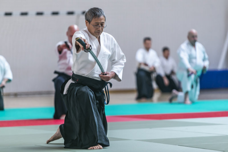 Aikido Easter Camp 2019 z Senseiem Takao Arisue