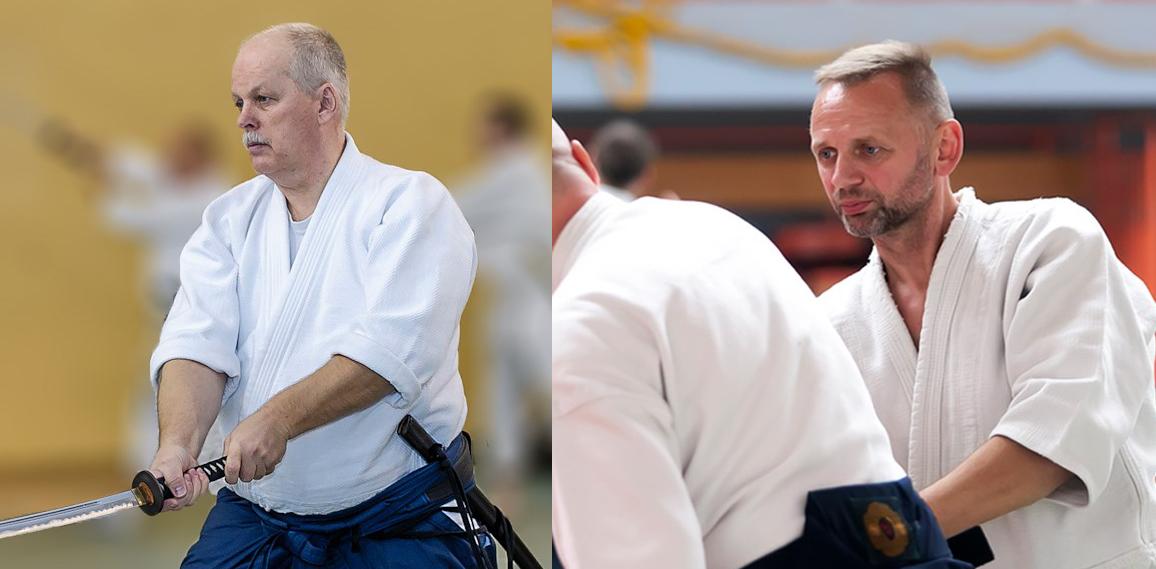 Seminarium aikido z Michałem Górskim 6 DAN i Pawłem Mizia 4 DAN