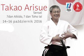 Seminarium z Takao Arisue Sensei (7 dan Aikido, 7 dan Iaido)